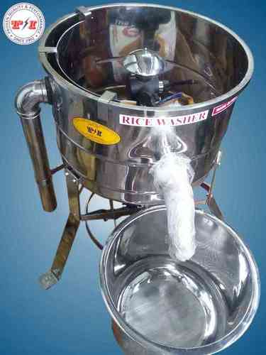 Stainless Steel Rice Washer