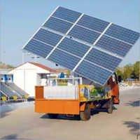 Solar Pump Demo Van