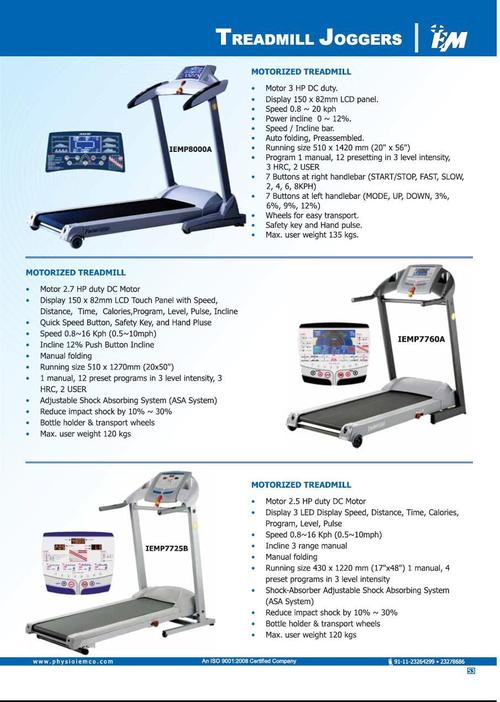 Treadmill Joggers