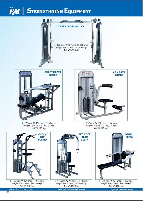Strengthning Equipments