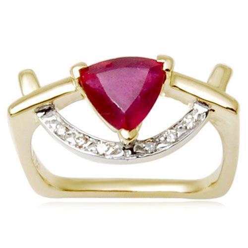 trillion shaped bangk pave setted diamonds 14k gold jewellerydesigner gold ring pattern online