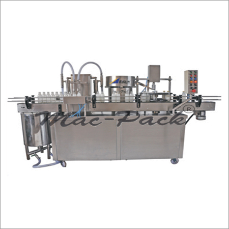 Linear Bottle Filling & Crowning Machine