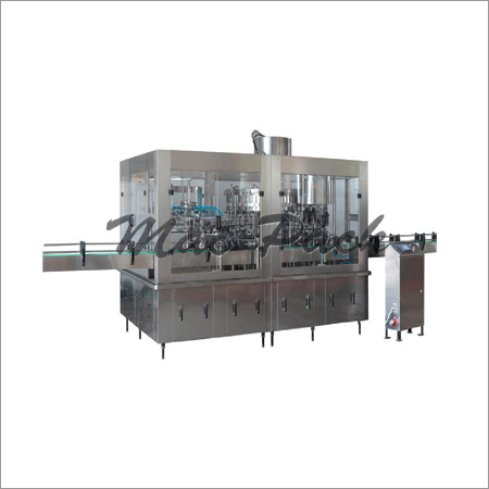Rotary Bottle Rinsing, Filling, Capping Machine