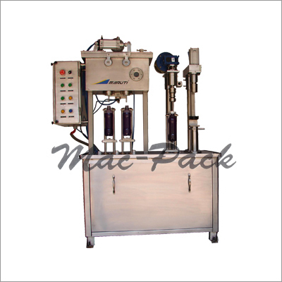Semi Automatic Bottle Filling & Capping Machine