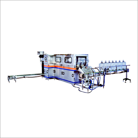 Fully Automatic 20 Ltr Jar Washing Filling Capping Machine