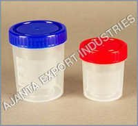 Sample Container, PP/HDPE