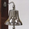 Bracket Bell, Chrome Finish  6''
