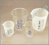 Beakers Without Handle, PP & TPX