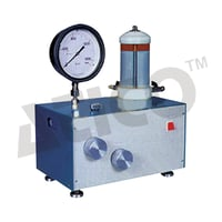 Dead Weight Type Oil & Water Constant Pressure System