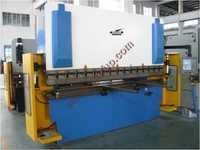Front view of Hydraulic Press Brake