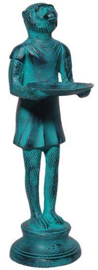 Aluminium Monkey Statue