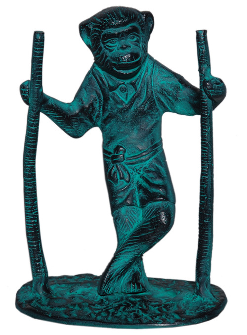 Aluminium Monkey Sculpture