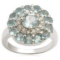 2013 latest designer ring with multiple gemstones from valentine jewellery, party wear, 2013 desi