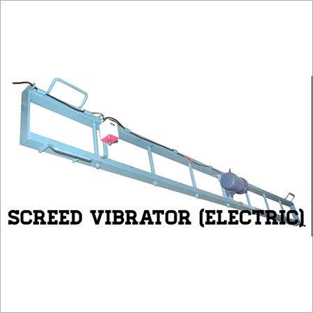 Screed Vibrator (Electric)