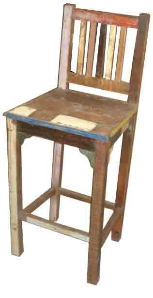 Reclaimed Bar Chair