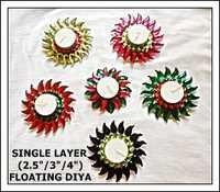 Single Layer Floating Diya
