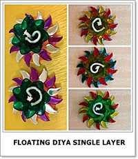 Floating Diya Single Layer