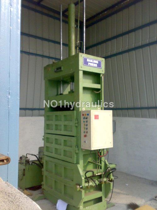 cotton baling press