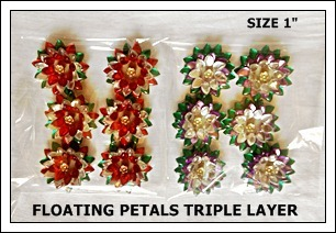 Floating Petals Single Layer