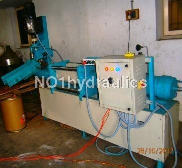 Hydraulic cone dhoop forming machine