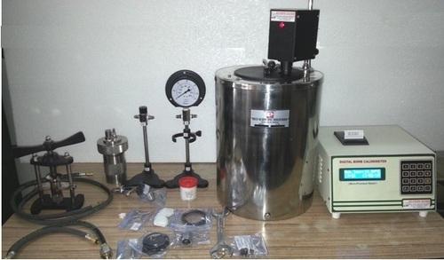 Automatic Micro Processor Based Bomb Calorimeter