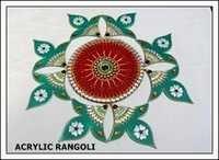 Acrylic Rangoli