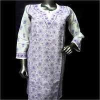 Ladies Long Cotton Tops