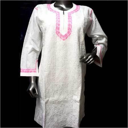 Designer Cotton Long Tops