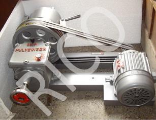 Laboratory Pulverizer Disc Type