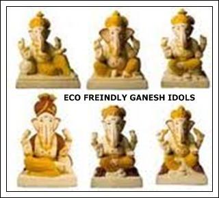 Eco Friendly Ganesh Idol