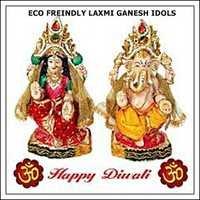 Eco Friendly Laxmi Ganesh Idol