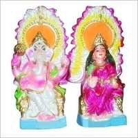 Mitti Laxmi Ganesh Idol