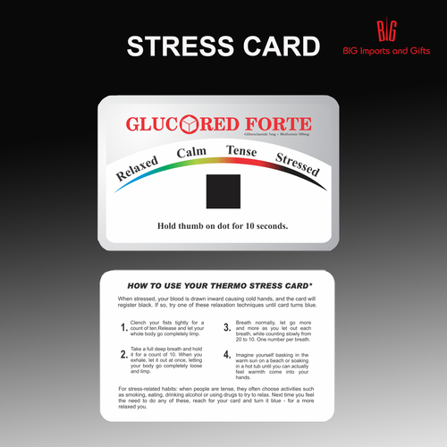 Stress Detection Card