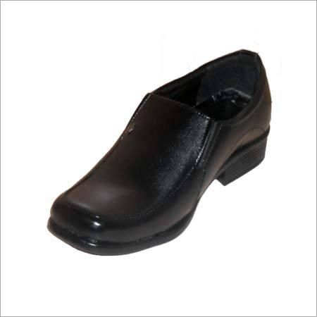 Mens Leather Sole Shoes