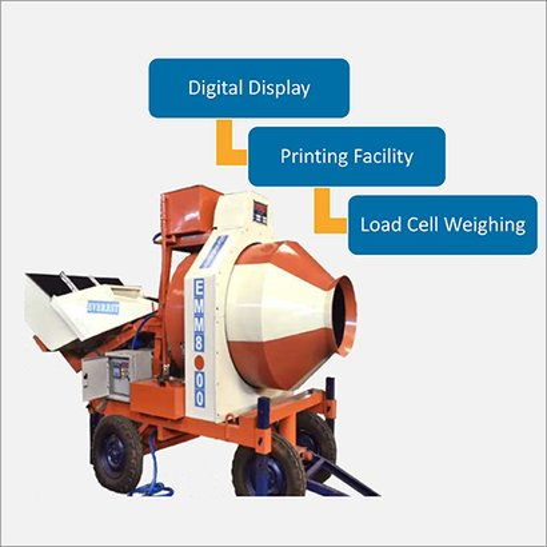 Mini Mobile Batching Machine Capacity: 8 -10 M3/Hr