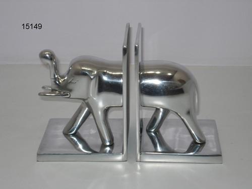 Aluminium Elephant Book Stand