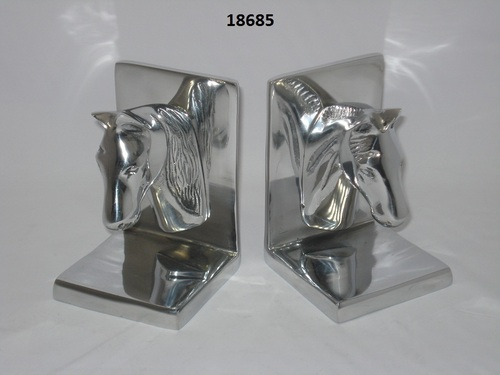 Aluminium Horse Bookend