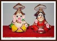 Idol of Laxmi Ganesh