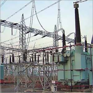 Power Substation Steel Structures
