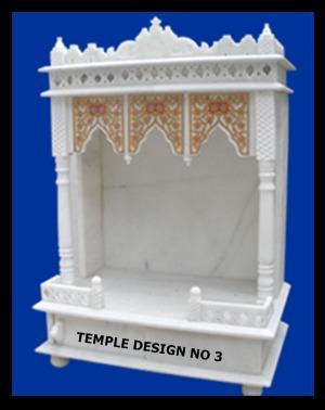 Decorative Marble Mandir