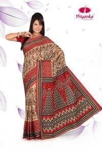cotton printed sarees pochampalli print
