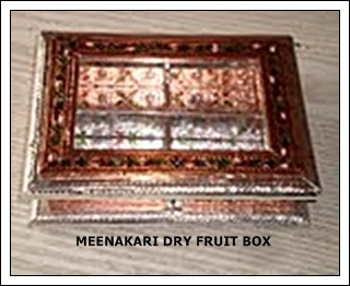 Minakari Small Dry Fruit Box