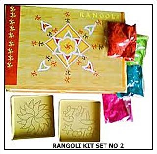 Kit of Rangoli