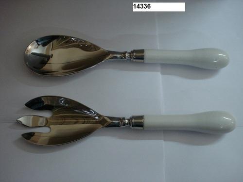 White Plain Cutlery Set