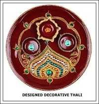 Designed Decorative Thali