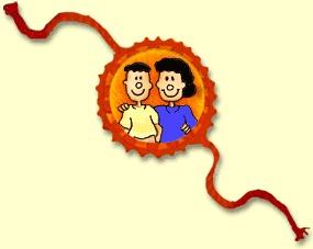 Cartoon Rakhi