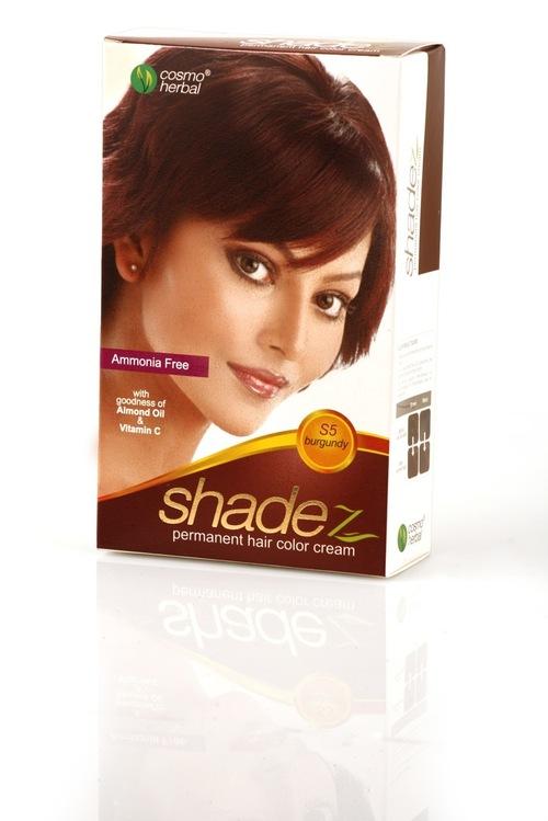 Shadez Hair Color Cream (Burgundy)