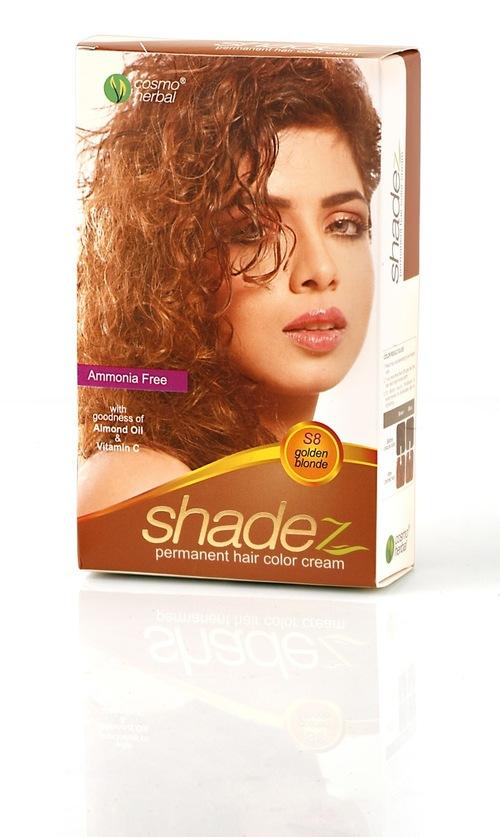 Shadez Hair Color Cream (Golden Blonde)
