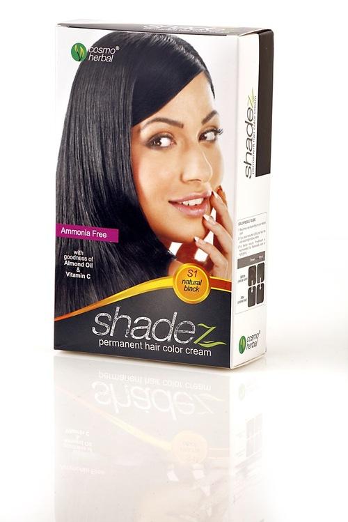 Shadez Hair Color Cream (Natural Black)