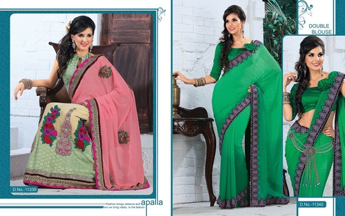 Designer Embroidered Sarees
